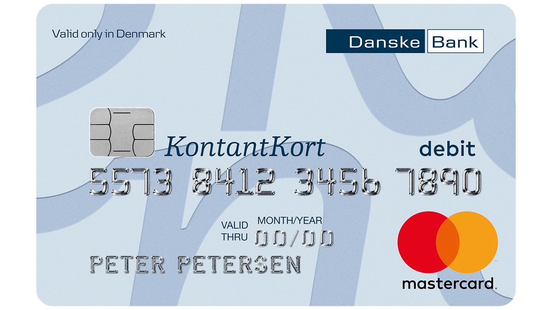 danske bank spærring af kort