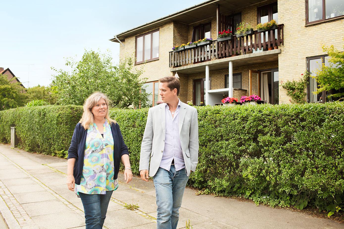 Henrik købte en lejlighed til sin mor