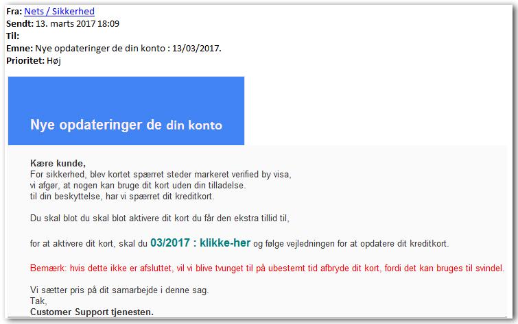 danske bank spærre kort